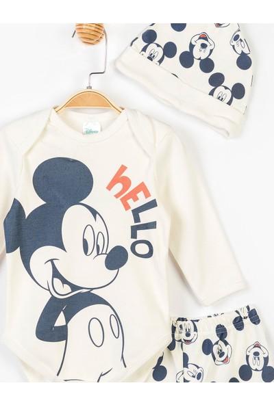 Mickey Mouse Disney Mickey Bebek 3'lü Takım 14690