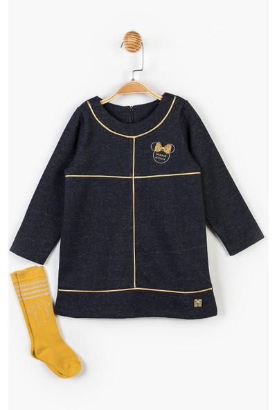 Minnie Mouse Disney Minnie Çocuk Elbise ve Çorap 14624