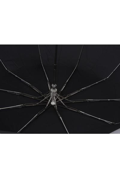 Mubo Snotline Erkek Şemsiye Mini 10 Telli Siyah 06G