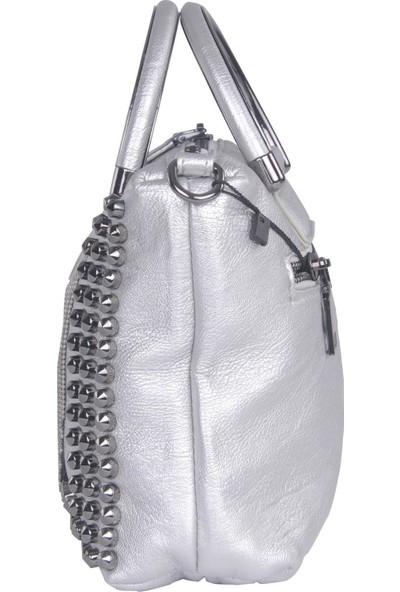 Pehlivan Kriste Bell Kadın Askılı Çanta Gümüş 25813