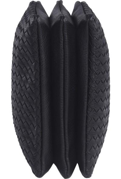 Pehlivan Kriste Bell Kadın Çapraz Askılı Çanta Siyah 25917