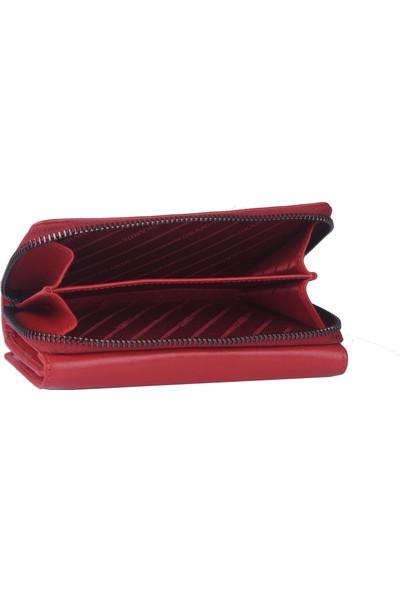 Mubo Grande Deri Erkek Cüzdan Kırmızı 2715