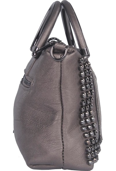 Grande Kriste Bell Kadın Askılı Çanta Pewter 25813