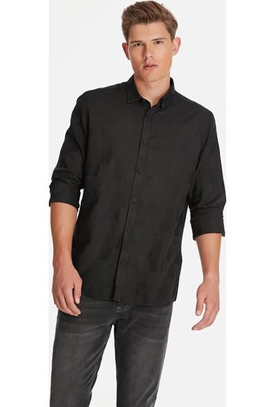 Mavi Erkek Siyah Gömlek 021237-900