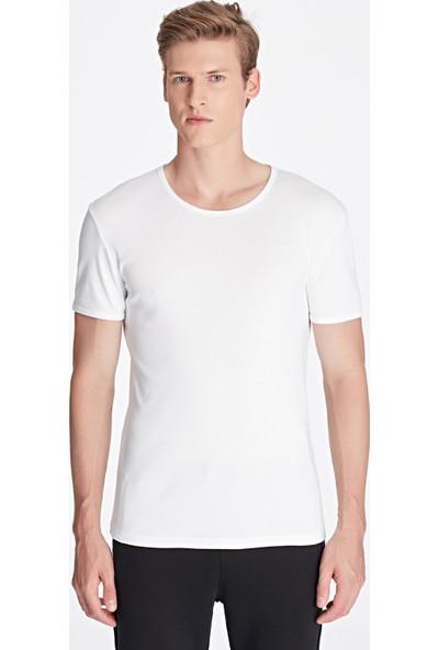 Mavi Beyaz Basic Tişört 063747-620