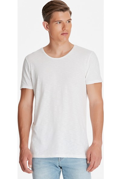 Beyaz Basic Tişört 064681-620