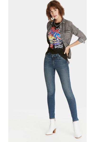 Mavi Adriana Gold Koyu Jean Pantolon
