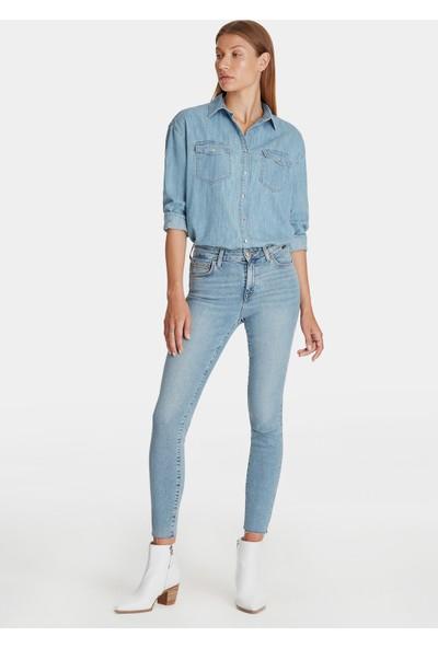 Mavi Melinda Gold Jean Gömlek
