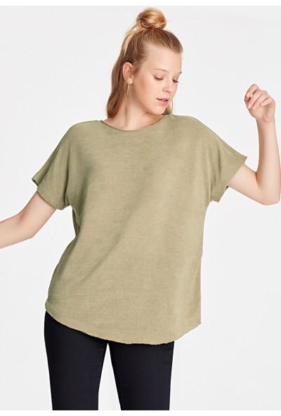 Mavi Bej T-Shirt