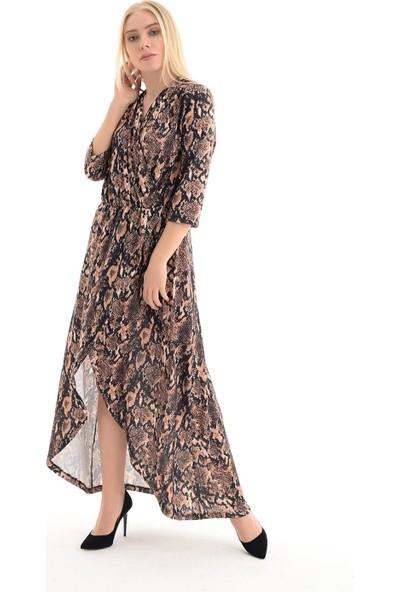 Sense Kadın Yılan Elbise Elb31803