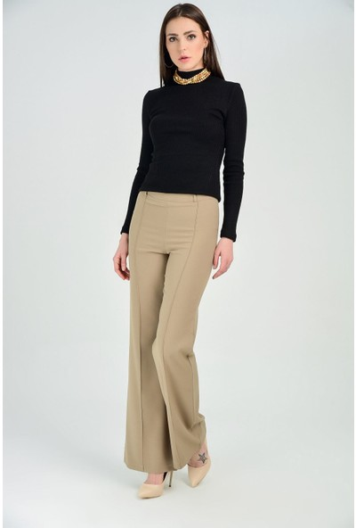 Sense Kadın Camel Pantolon Pnt31041