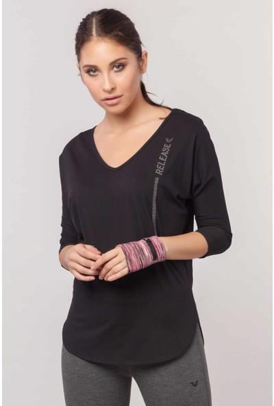 Bilcee Kadın Antrenman T-Shirt Ew-3004