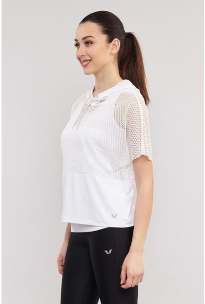 Bilcee Kadın Antrenman T-Shirt Es-3541