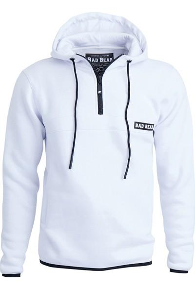 Bad Bear Beyaz Erkek Sweatshirt