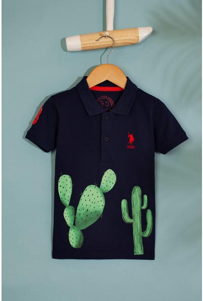 U.S. Polo Assn. Erkek Çocuk T-Shirt 50199225-Vr033