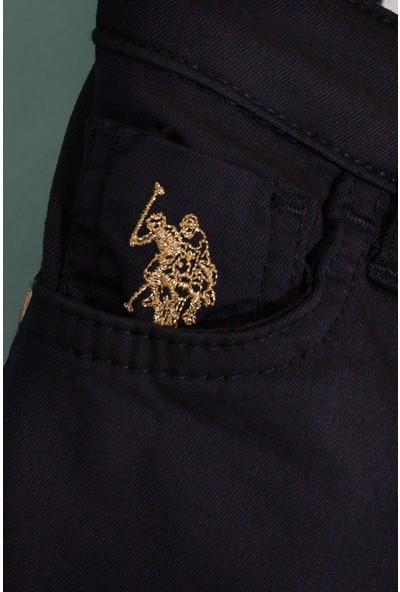 U.S. Polo Assn. Kız Çocuk Dokuma Spor Pant 50203110-Vr033
