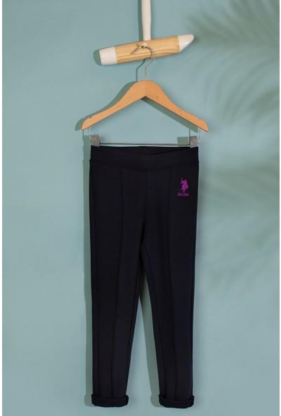 U.S. Polo Assn. Kız Çocuk Örme Pantolon 50210576-Vr033