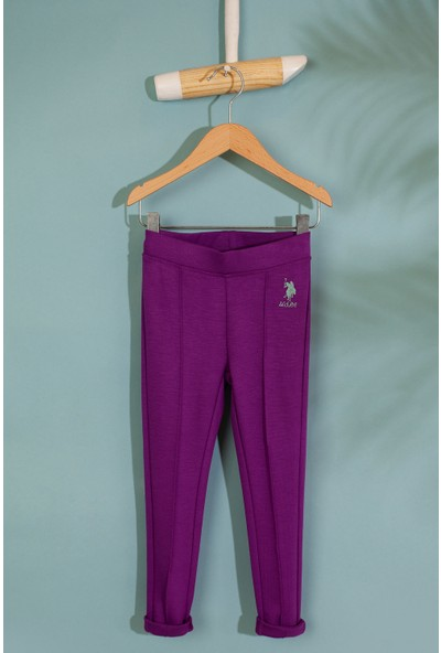 U.S. Polo Assn. Kız Çocuk Örme Pantolon 50210576-Vr037