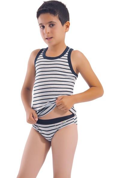 Öztaş 3017 Çocuk Çizgili Rambo Atlet