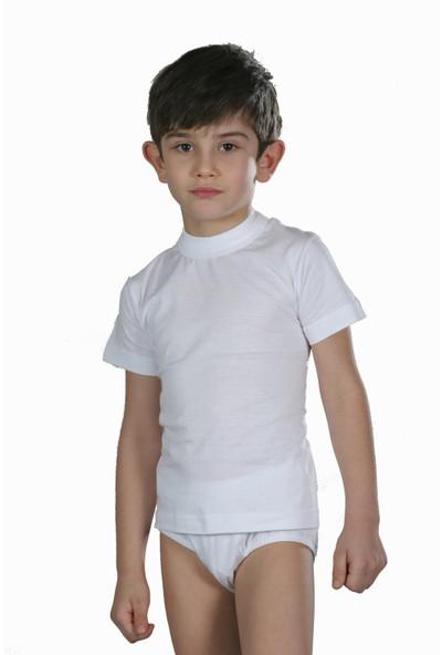 Öztaş 3003 Çocuk O-Yaka Kısa Kol Atlet