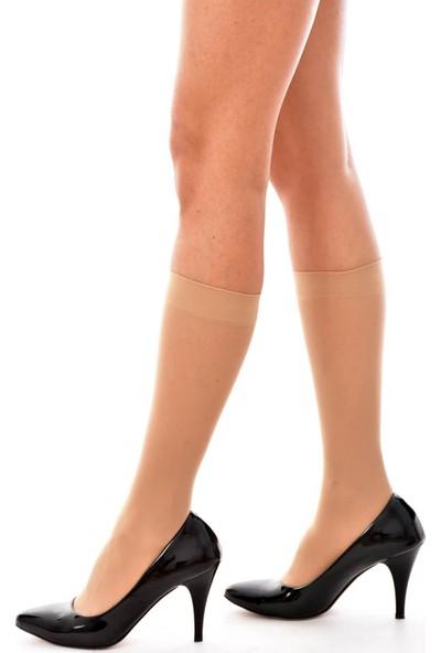 Oral Kadın 6 lı Paket İnce Diz Altı Çorap 40Den 51