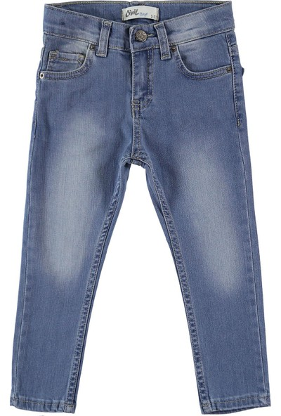 Civil Boys Erkek Çocuk Kot Pantolon 2-5 Yaş Mavi