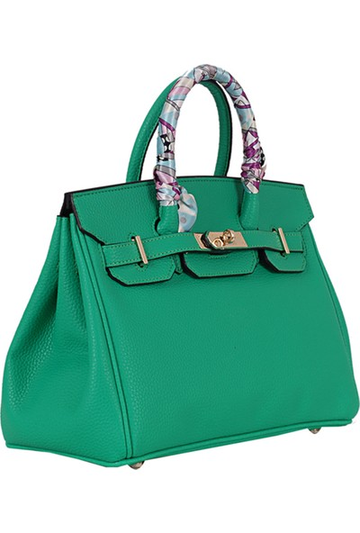 Lamberti 7095 Kadın El Çantası Yeşil