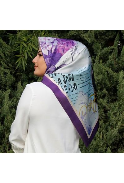 Renkli Butik Tafta Kadın Eşarp