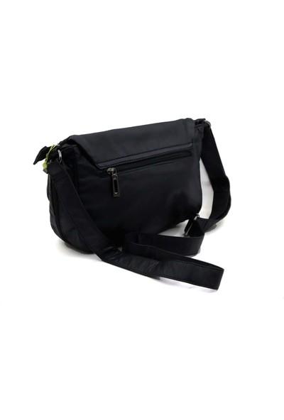Ccs Siyah Soft Yıkama Kadın Çapraz Askılı Çanta