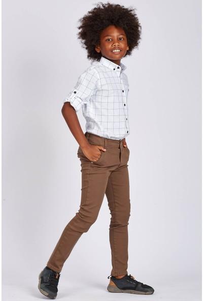 Tommy Life Kahverengi Erkek Çocuk Pantolon