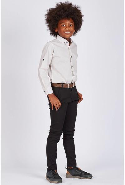 Tommy Life Siyah Çocuk Pantolon