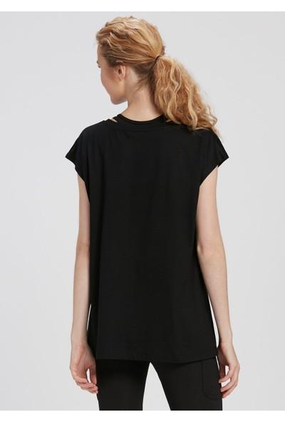 Dagi Kadın T-shirt Siyah