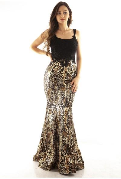 Arda New Line Kadın Leopar Abiye 1301425.53