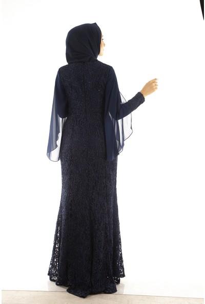 Arda New Line Kadın Lacivert Abiye 1301446.02
