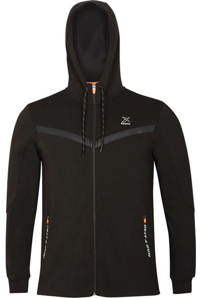 Kinetix Calder 2 Tek Ust Siyah Erkek Sweatshirt