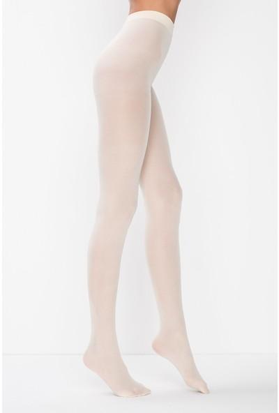 Penti Micro 40 Mus&opak Beyaz Çorap