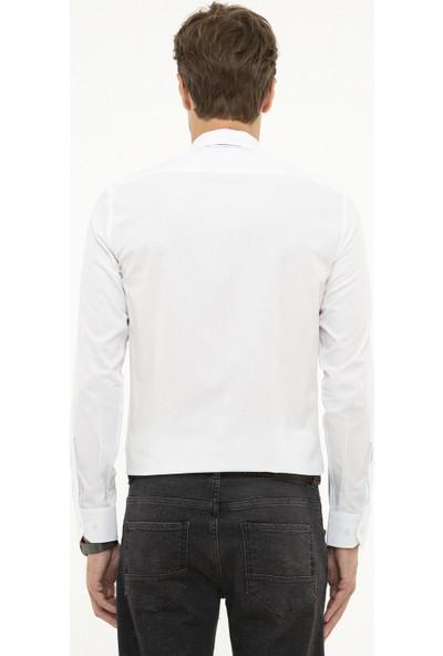 Pierre Cardin Erkek Dokuma Gömlek 50209661-Vr013