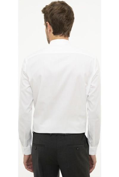 Pierre Cardin Erkek Dokuma Gömlek 50209665-Vr013