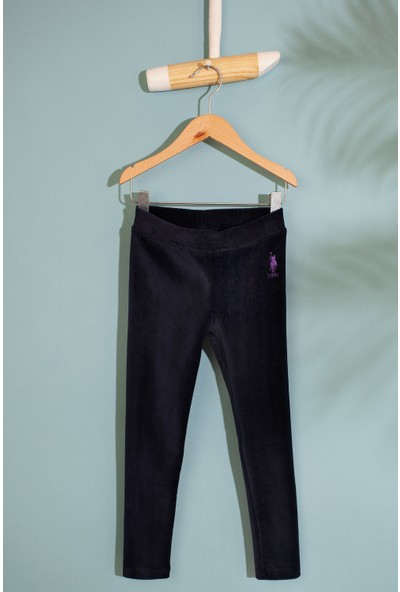 U.S. Polo Assn. Kız Çocuk Orme Pantolon 50210579-Vr033
