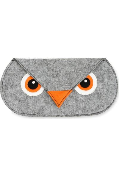 Yaratıcı Tasarım Keçeli Baykuşlu Çüzdanı