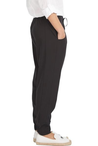 Arzu Gürbüz Kadın Siyah Tanya Pantolon