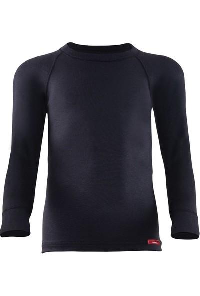 Blackspade Kız Çocuk Uzun Kol Termal 2. Seviye T-Shirt Body Siyah 9265