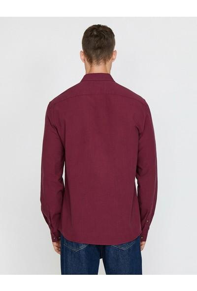 Koton Erkek Uzun Kollu Gömlek