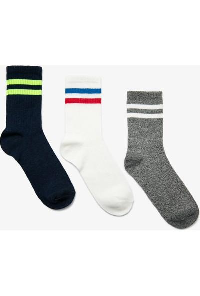 Koton Erkek Çocuk 3'lü Çorap