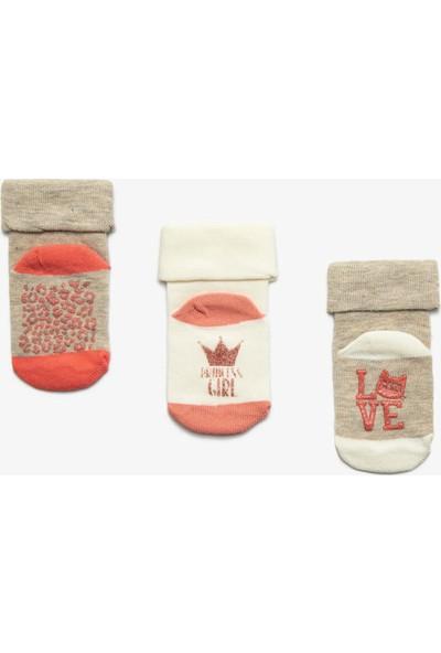 Koton Kız Çocuk Kız 3'lü Çorap