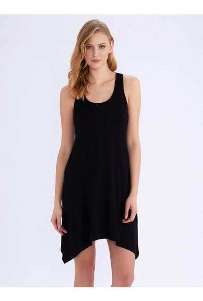 Ayyıldız 59344 Siyah Elbise