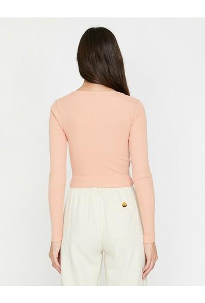 Koton Kadın Büzgülü Sweatshirt
