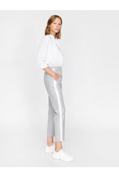 Koton Kadın Çizgili Pantolon
