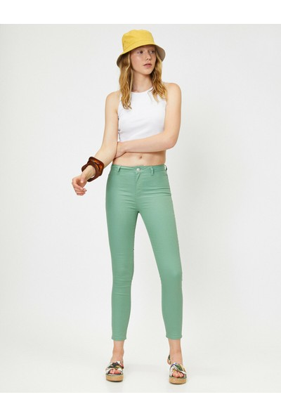Koton Kadın Dar Paça Pantolon