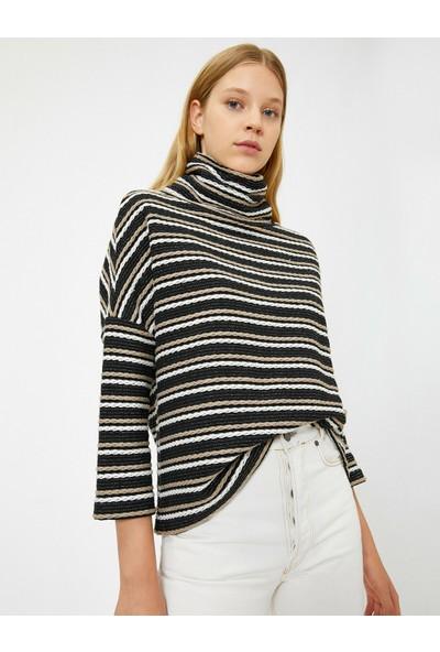 Koton Kadın İşlemeli Sweatshirt
